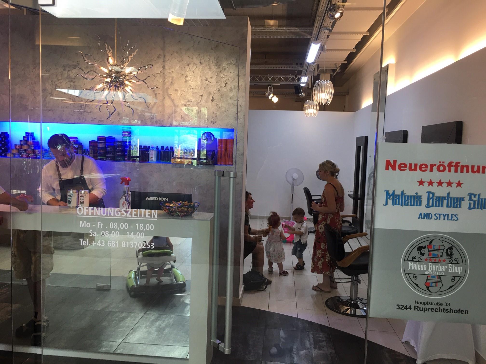 MATEOS Barbershop hat eröffnet